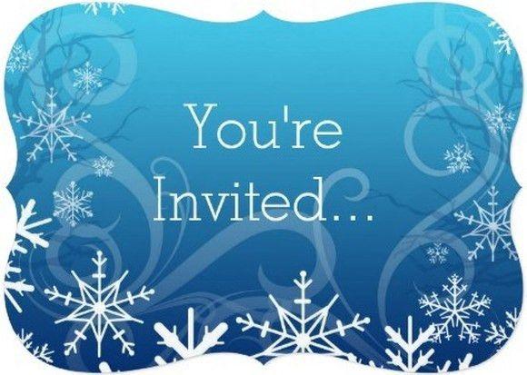 Frozen You Are Invited Invitation template | Invitations Online