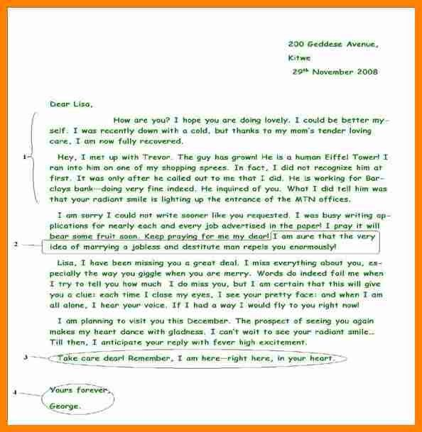 8+ an informal letter to a friend example | job resumed