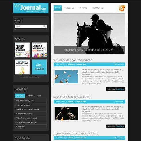 Journal - HTML Template - Web Blog - Personal - CSS Templates ...
