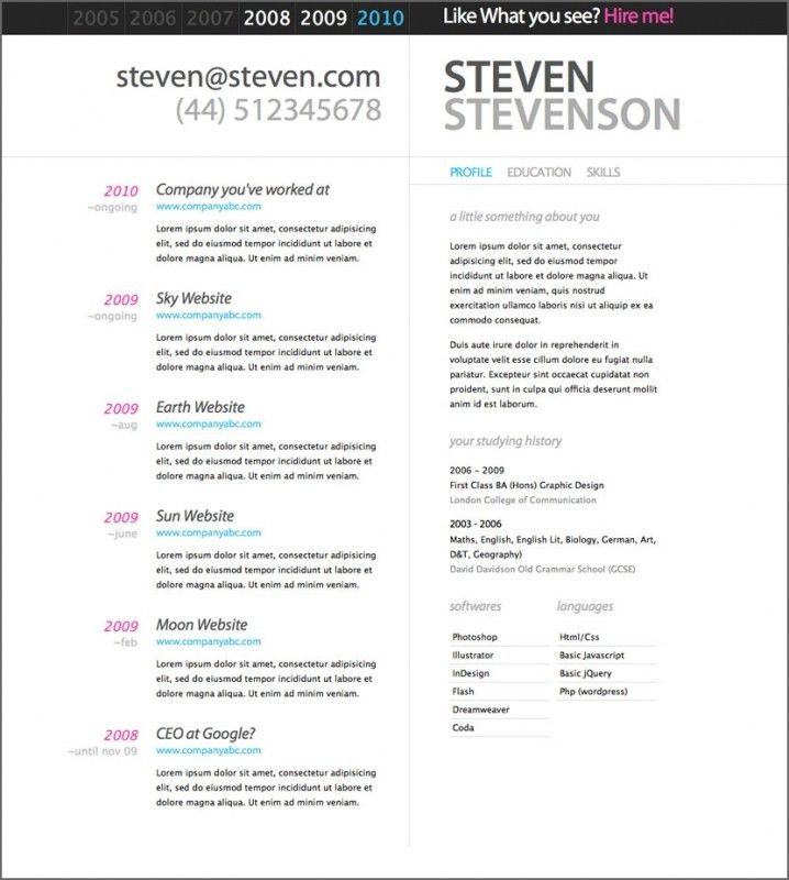 resume templates doc 30 best free resume templates in psd ai word ...