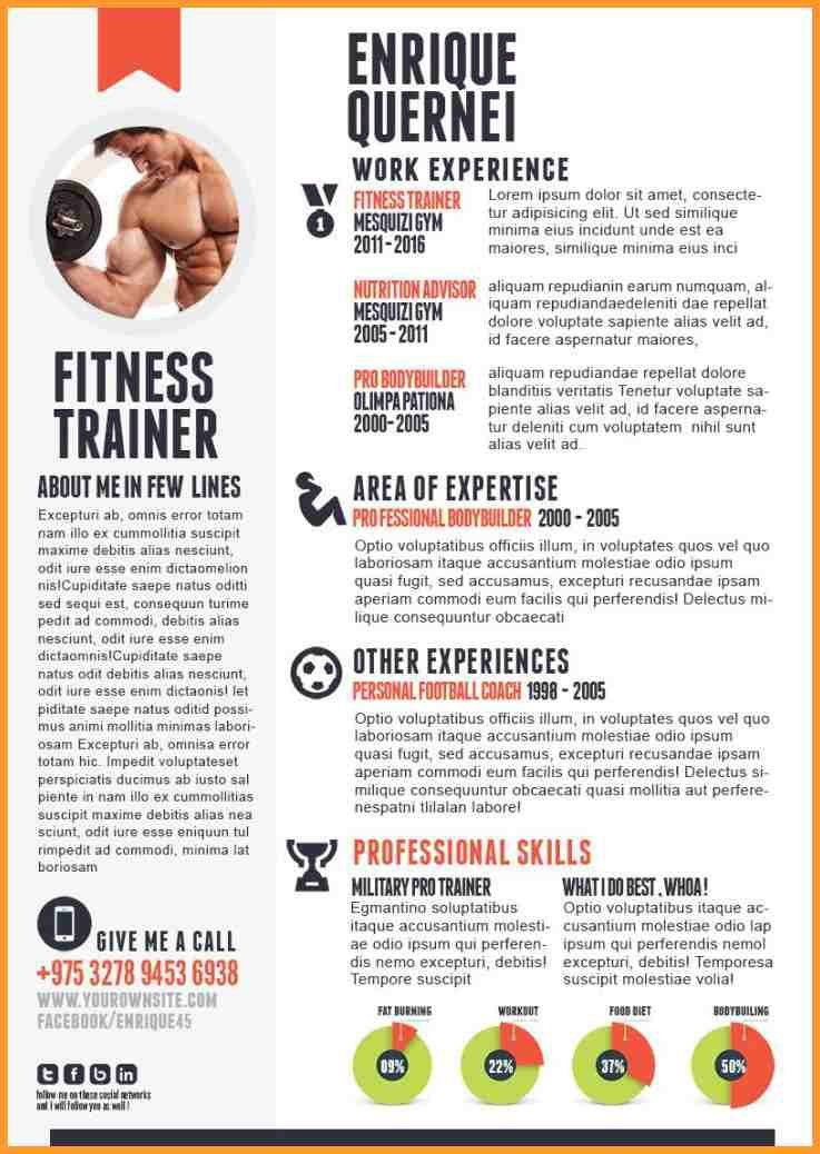 FITNESS INSTRUCTOR RESUME SAMPLE WITH PROFESSIONAL COURSES ...