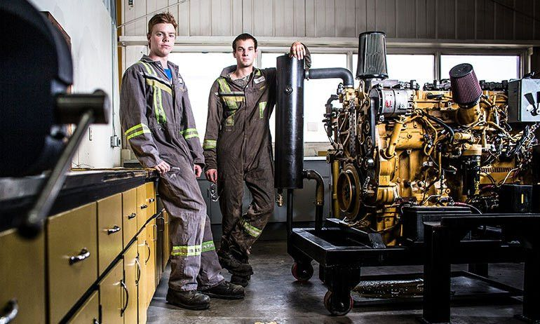 Heavy Duty Mechanic - Trade Places - Grande Prairie Regional College
