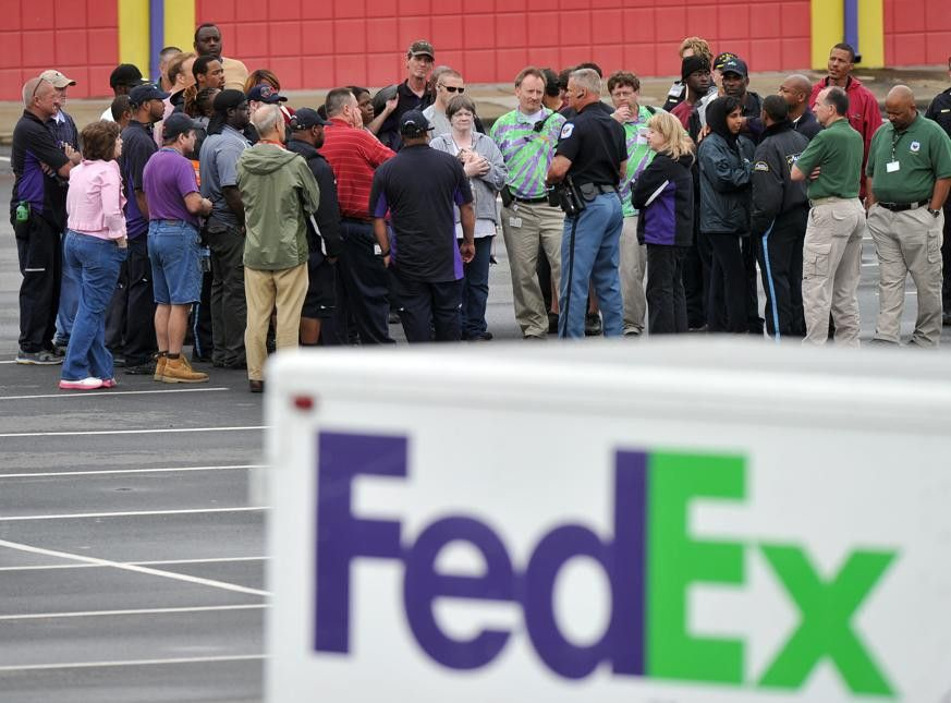 Photos: Shooting at FedEx facility in Kennesaw