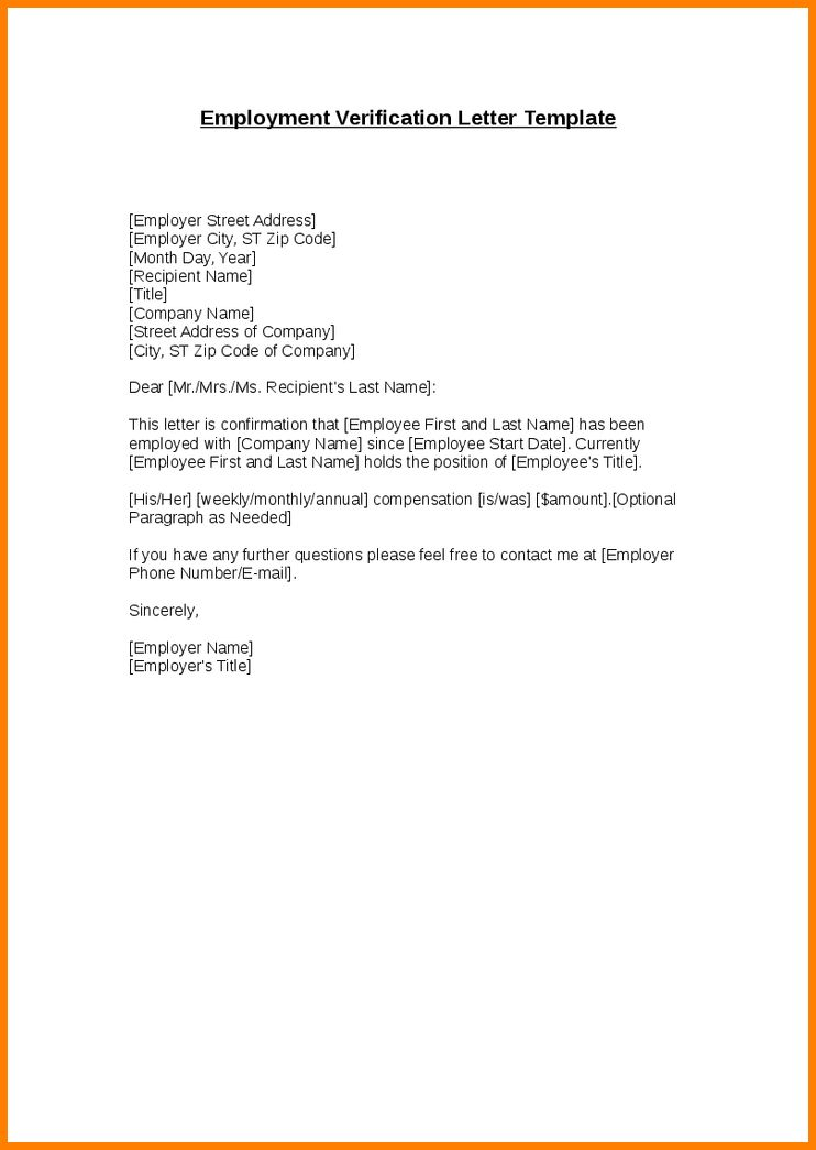 10+ employer's letter confirming employment | cashier resumes