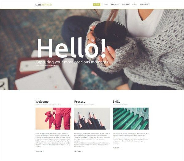 16+ Art Gallery Website Templates & Themes | Free & Premium Templates