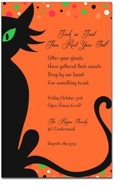 Halloween Office Lunch Invitation Wording – Festival Collections