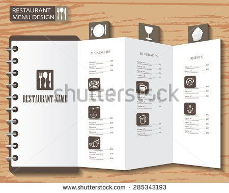 Restaurant Menu Infographics Background Elements Blackboard Stock ...