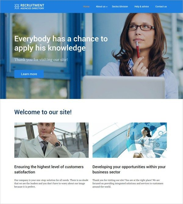 20+ Business Directory Website Themes & Templates | Free & Premium ...