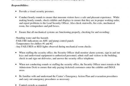 Cover letter resume correctional officer
