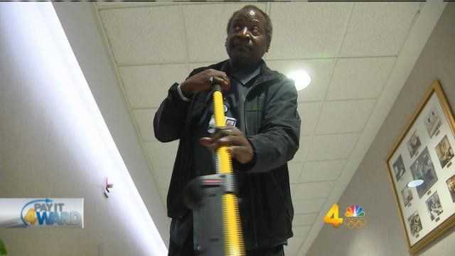 St. Thomas janitor brings sunshine to hospital - WSMV News 4