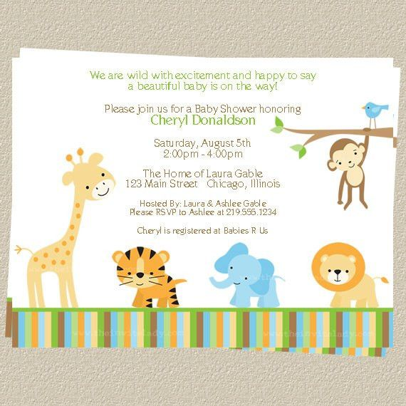 Baby Shower Invitations Templates Free – gangcraft.net