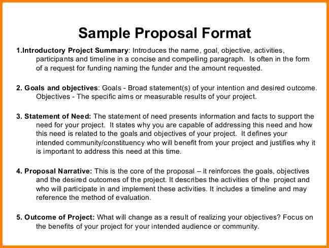 Fundraising Proposal Template. Sample Fund Raising Proposal ...