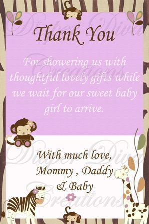 Top 25+ best Baby thank you cards ideas on Pinterest | Thank you ...