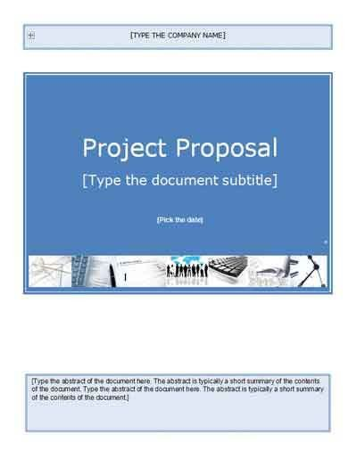 Project Proposal Template | GetProjectTemplates