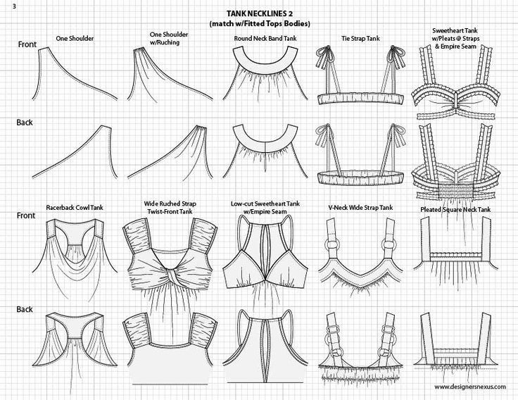 Fashion Sketch Templates $49.95 for over 1300 pre-sketched mix ...