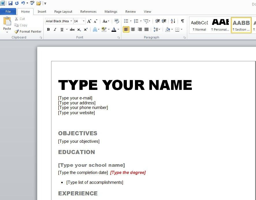 format on how to make a resume haadyaooverbayresortcom