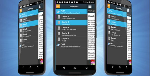 Android eBook Template with Admob by ittus | CodeCanyon