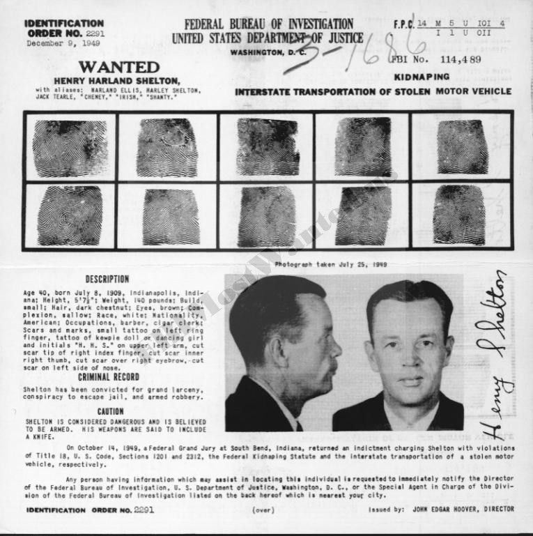 FBIMostWanted.us, Wanted Posters & Related Collectibles