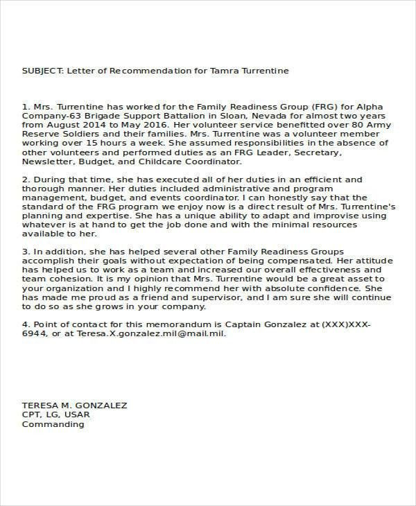 recommendation letter sample for cna job. recommendation cover ...