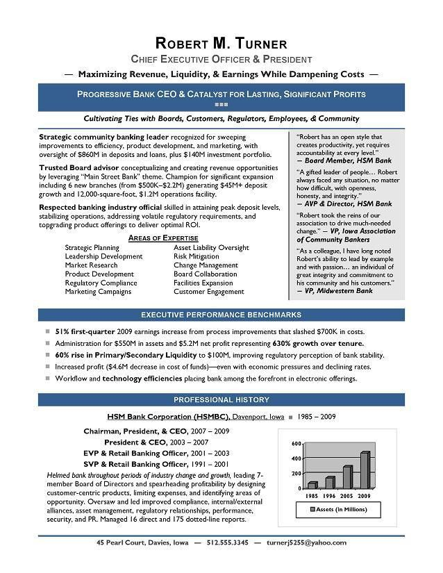 free resume templates it template examples cio with regard to. 100 ...