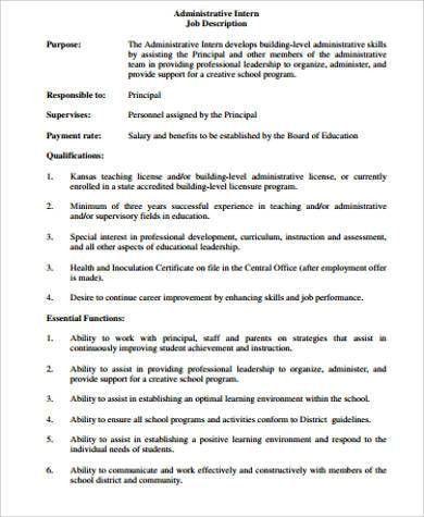 Sample Healthcare Administration Job Description - 7+ Examples in ...
