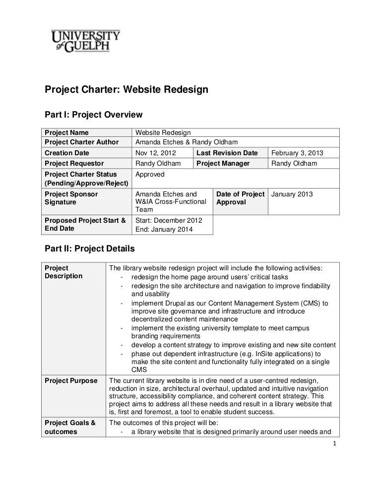 website redesign_project_charter_final