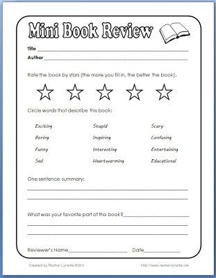 Free 2nd grade Book Report Template - Yahoo Image Search Results ...
