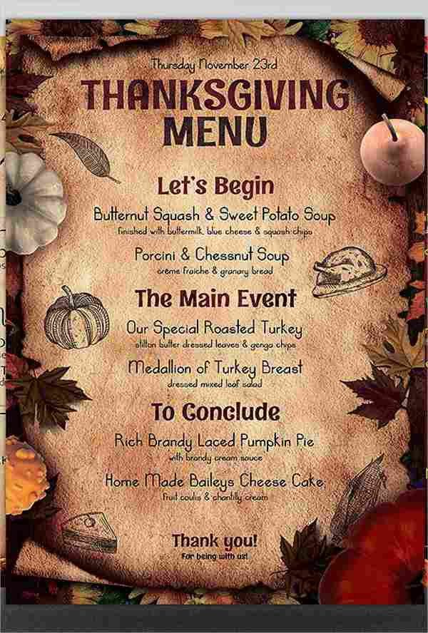 9+ Dinner Party Menu Templates - Design, Templates | Free ...