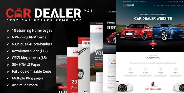 Car Dealer - The Best Car Dealer Automotive Responsive HTML5 ...