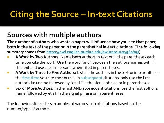 Apa Format Citation Example Multiple Authors - Shishita-world.com