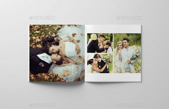 8 Beautiful Wedding Photobook Templates for Designers _ FlipHTML5 ...