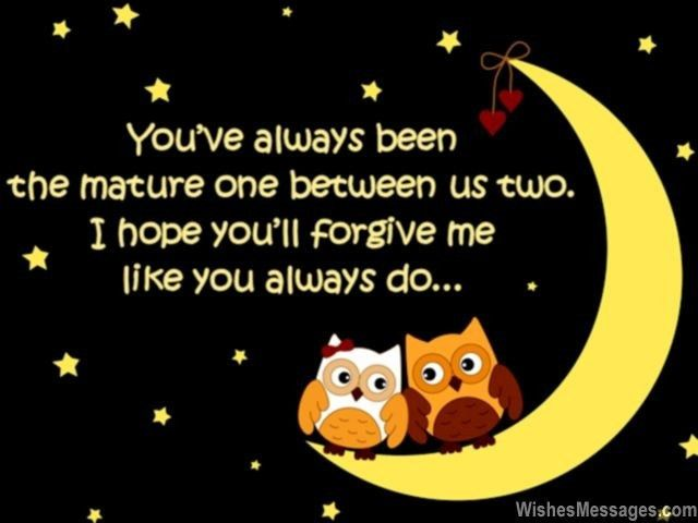 I Am Sorry Messages for Wife: Apology Quotes for Her ...