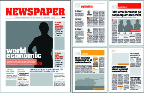 Newspaper ad design free vector download (639 Free vector) for ...