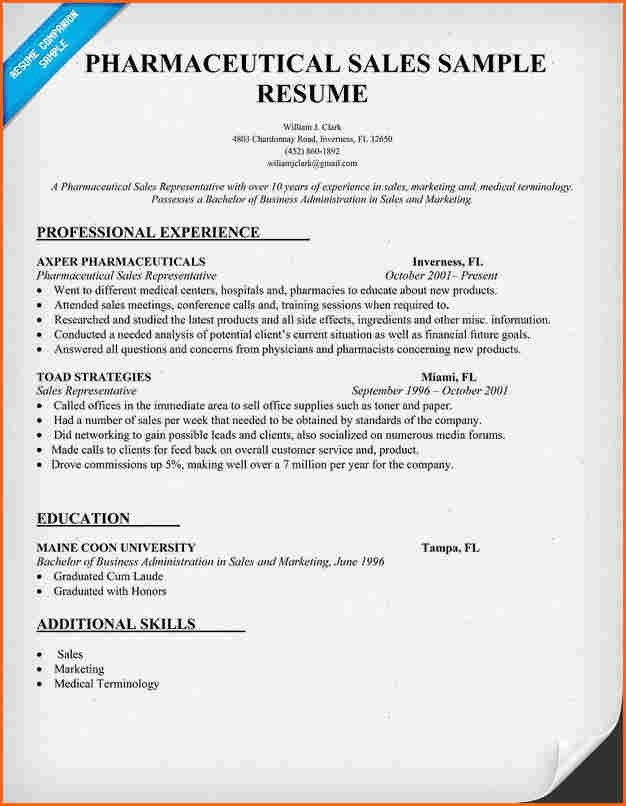 6+ pharmaceutical resumes - Budget Template Letter