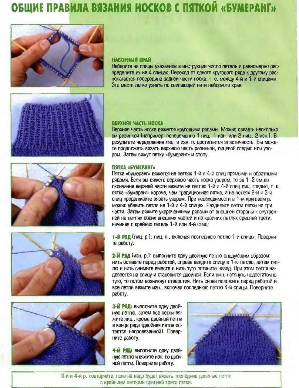 Планета Вязания Уроки вязания спицами для начинающих. Часть 16