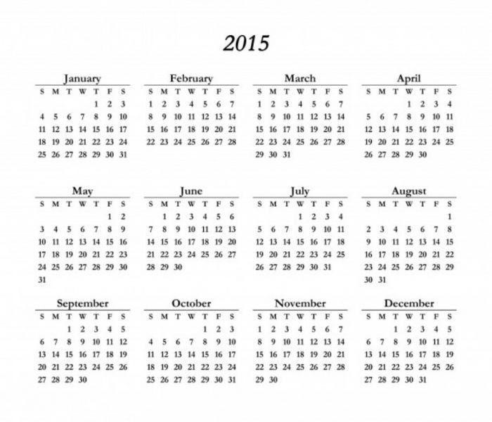 Best 25+ 2015 calendar template ideas on Pinterest   Calendar 2015 ...