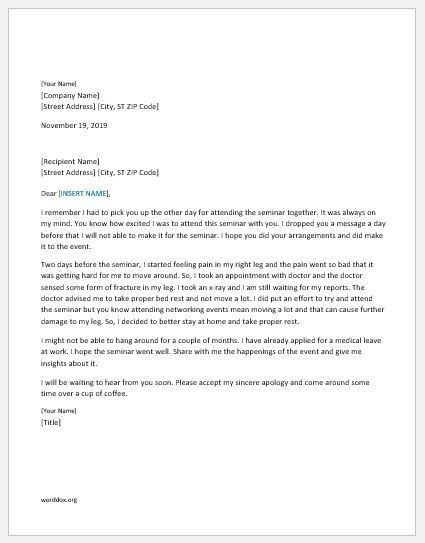46 Apology Letter Templates for Everyone | Word Document Templates
