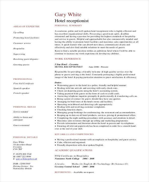 34+ Resume Format Templates | Free & Premium Templates