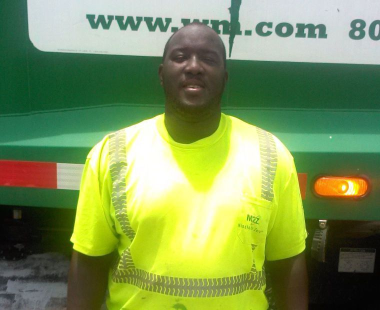 Garbage truck driver stops to help woman having a stroke | Local ...