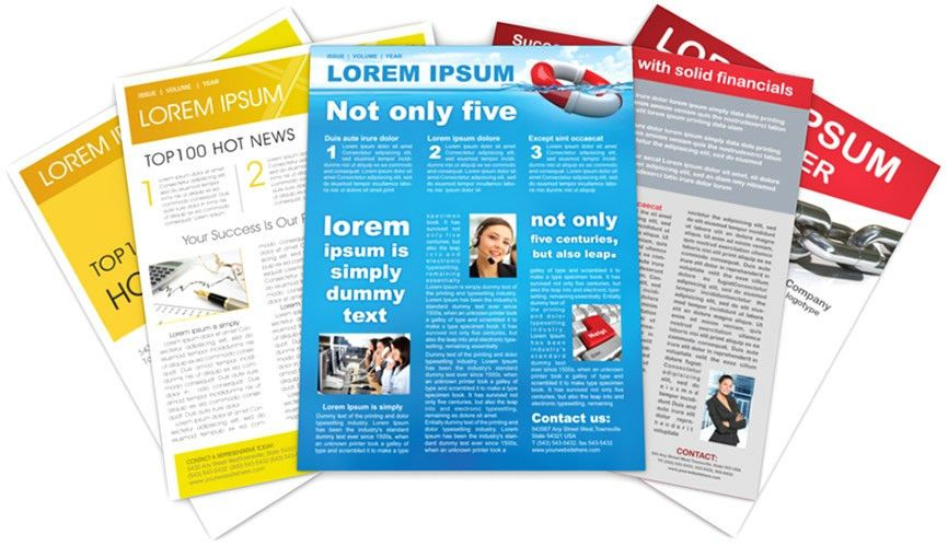 Newsletter Templates Features - SmileTemplates.com