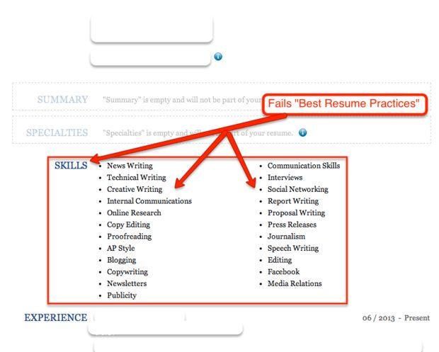 sample resume skills writing skills on resume next lets continue ...