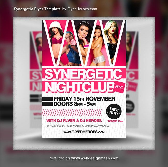 20 New Free Club Flyer Templates - Website Design Inspiration ...