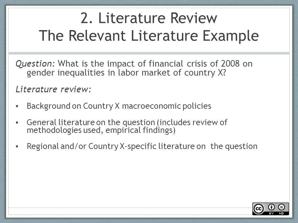 Example review of related literature - Custom Dissertations for A+ ...