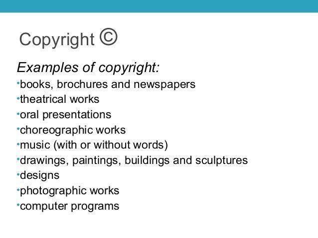 Copyright ppt