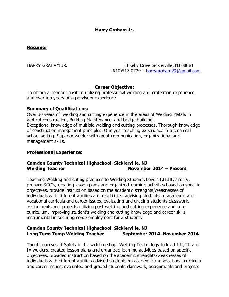 sample technology teacher resume