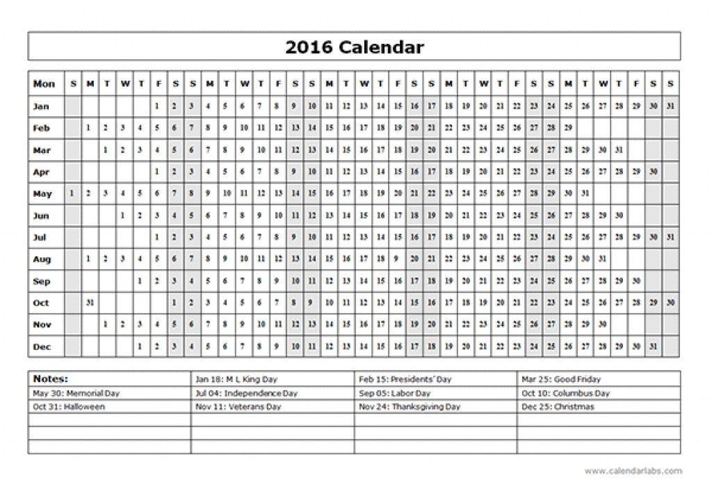 Sample Yearly Calendar. A Sample Of Our Brand Marketing Calendar ...