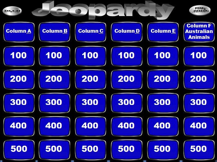 Jeopardy Powerpoint Templates - Powerpoint Templates | Free ...