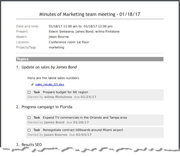 How to Write Meeting Minutes Quickly and Easily | MeetingKing