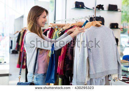 Salesperson Talking Customers Stock Photo 577539256 - Shutterstock