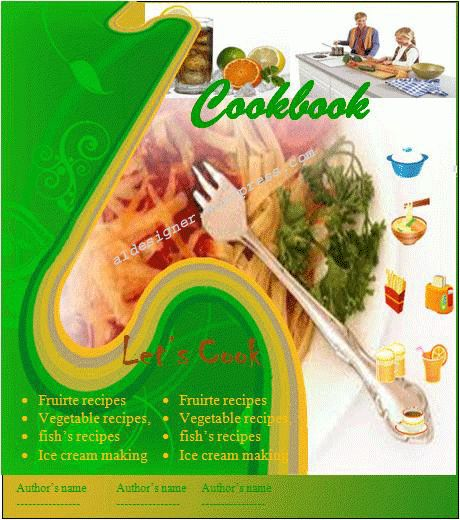 Cookbook Template | Graphics and Templates